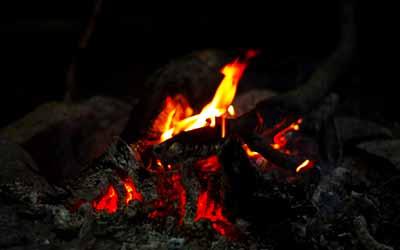 Шаманский кемп Фанагория огонь