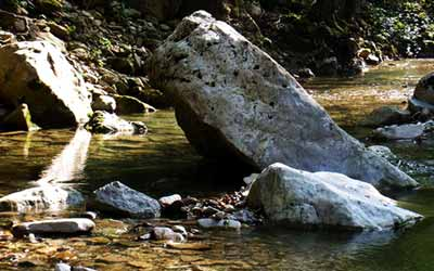 Шаманский кемп Фанагория камень