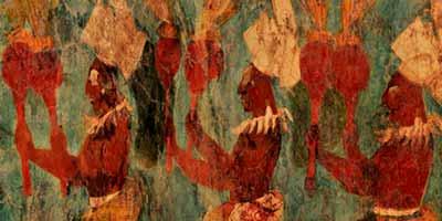 Бонампак фрески