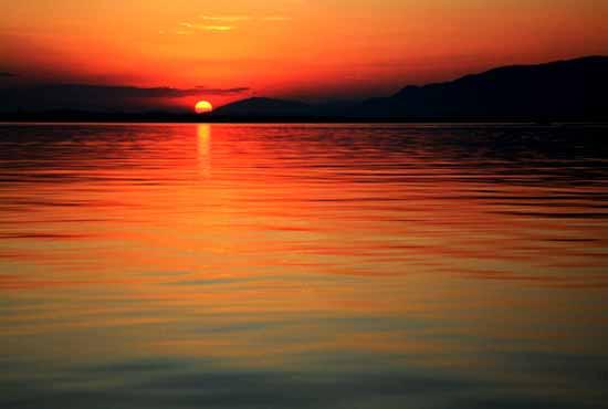 Ливингстон закат в море