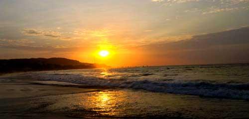 Манкора океан закат