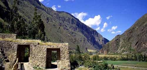 Инковские руины в Ольятайтамбо