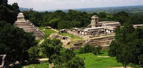 Паленке руины майя