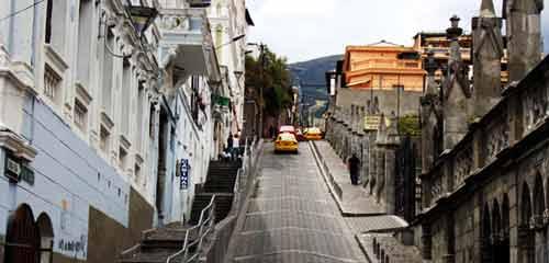 Улица в Кито
