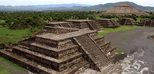 Теотиуакан пирамида Луны