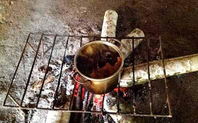 Аяхуаска на огне