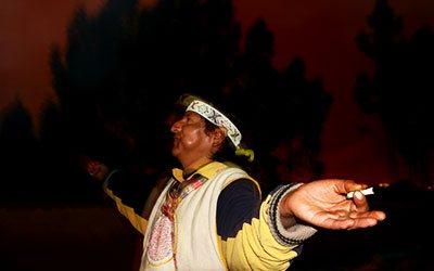 шаман в Перу