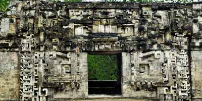 Чиканна пирамиды в Мексике