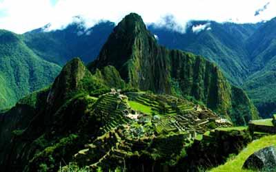 Мачу Пикчу гора