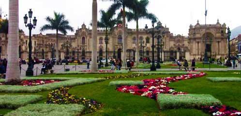 Лима президентский дворец