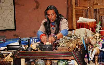 Аяхуаска шаман Куш