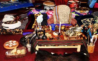 Куско стол шамана Куша