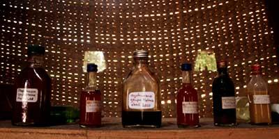 Ингредиенты для церемонии Айяуаска