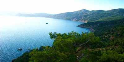 Крым залив море