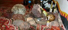 Метеориты для церемонии