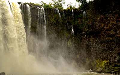 Водопад в Мексике