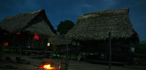 Ночь у шаманов шипибо