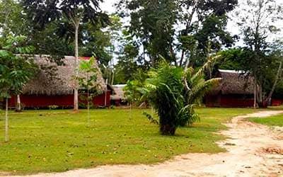 Домики в Пукальпе