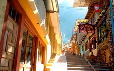 Мачу Пикчу pueblo