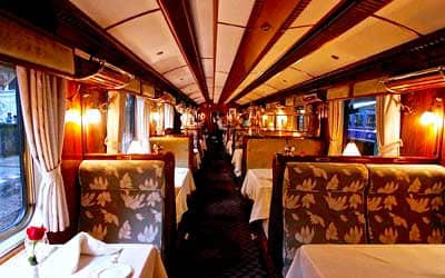 Вагон поезда Hiram Bingham