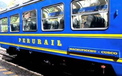 Вагон поезда Peru Rail
