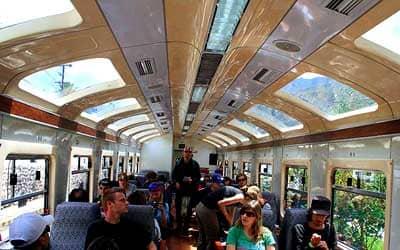 Поезд Vistadome
