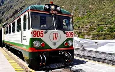 Поезд Inka Rail